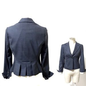 BCBGMaxAzria Wool Blend Marilyn Blazer, Size Small